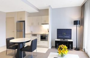 Meriton Serviced Apartments kitchen