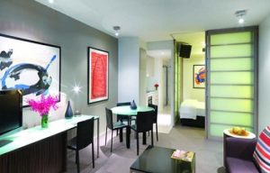 room in Adina Apartment Hotel Sydney Darling Harbour